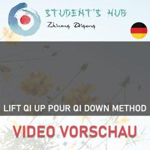 Lift Qi Up Pour Qi Down Method - Nur Methode